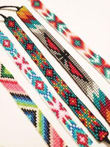 Bead loom bracelets kit and book